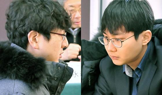 한·중 2대2 싸움, 박정환·박영훈 승전보