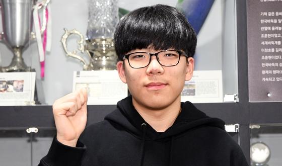 김유찬, 지역연구생 입단대회 통과
