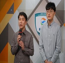 Kixx 강승민, 랭킹3위 변상일 잡고 포스코케미칼에 대역..