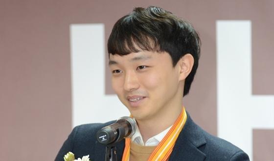 """최우수 아마선수상 허영락 """"더 큰 무대로 나가겠다"""""""