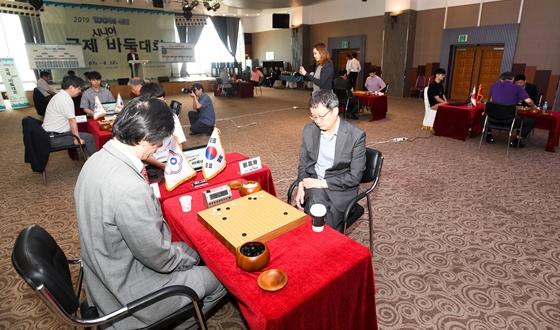 한국, 1장 양재호 전승으로 단체전 우승