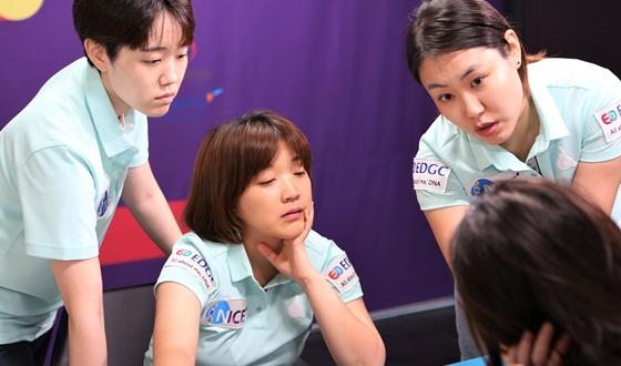 서울 EDGC, 1승 보태며 단독 2위