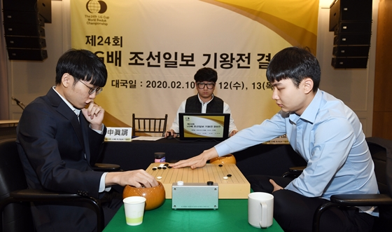 '신진서-박정환' 1인자 대결 시작