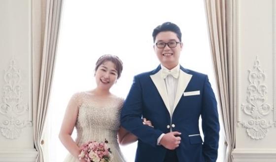 윤찬희, 동갑내기와 웨딩마치