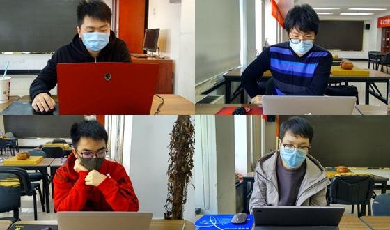 LG배, 중국대표선발전 마스크 착용 후 온라인 대국