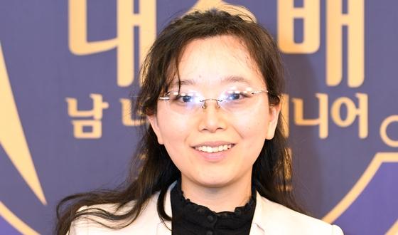 조혜연, 삼세번 도전 끝에 반집으로 우승