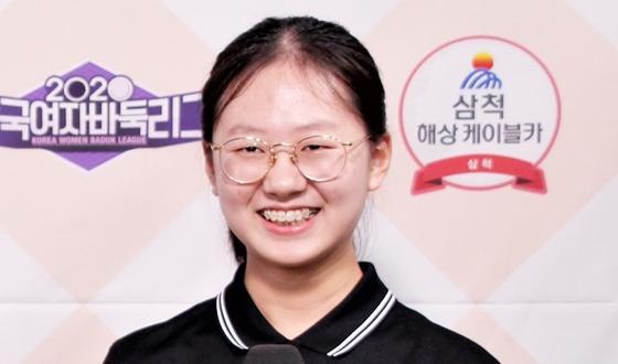 삼척 해상케이블카 김은지, 결승점으로 팀 승리 견인