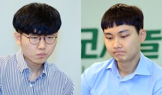 신진서-박정환 '쫄깃한 5번기 시작'