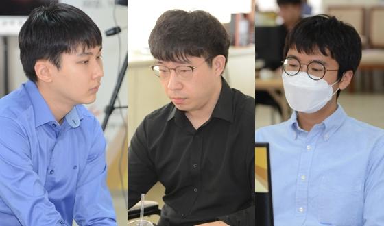 원성진은 구쯔하오 잡고, 신진서는 커제에게 잡혔다