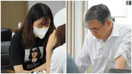 김정우-김지수 개막전 충돌!