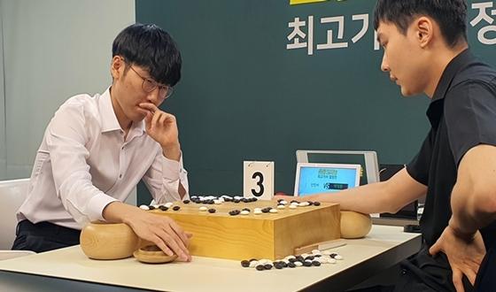신진서, 박정환에 2승 '우승까지 1승 남았다'