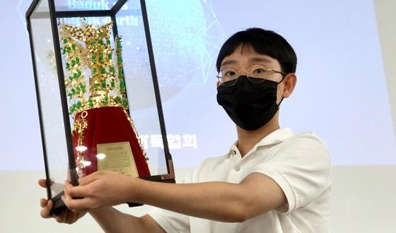 연구생 김승구, 7년만에 국무총리배 우승